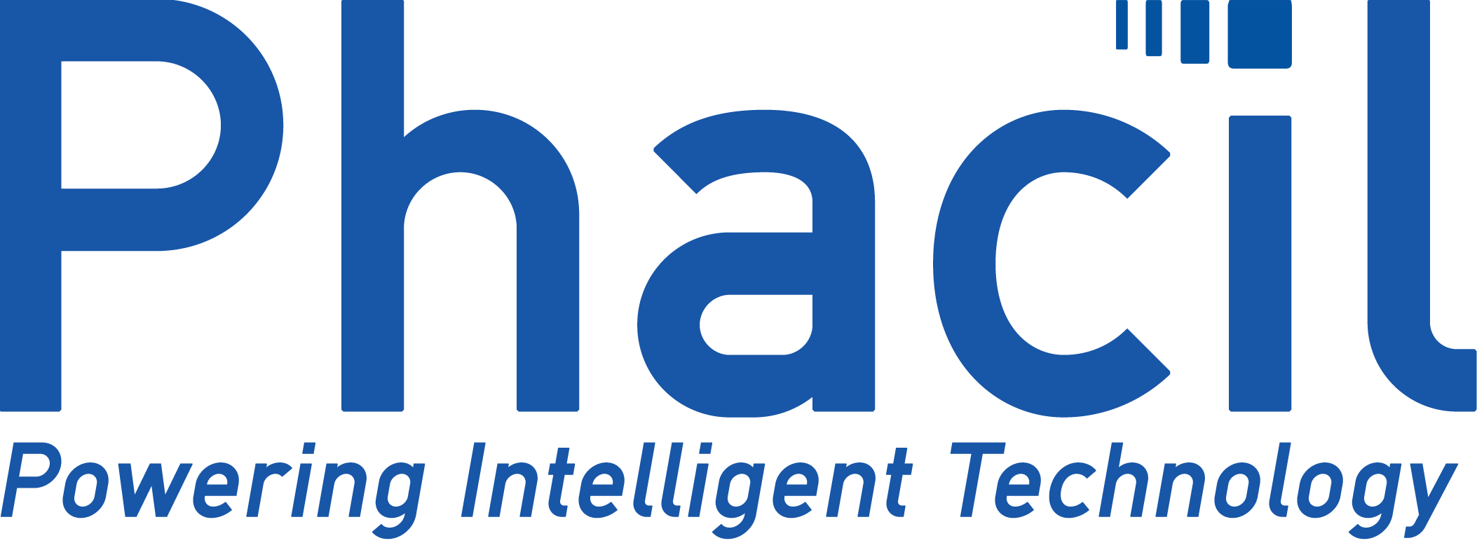 Phacil 2019 Logo Reflex Blue Hex 0054A3